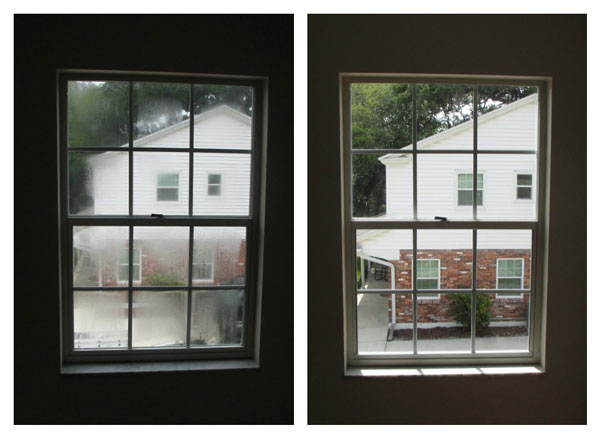 Fogged Window Repair 4: Before and After
