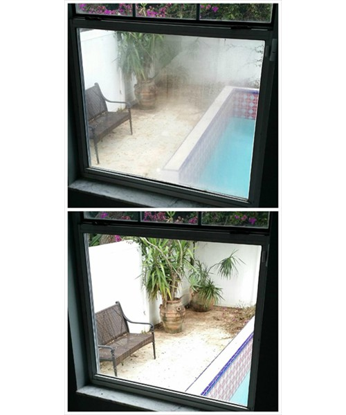 Fogged Window Repair 3: Before and After