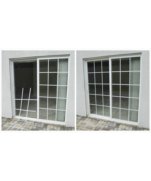 Patio Door Accent: Before and After