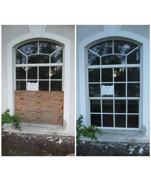 Window Glass Replacement: Before and After