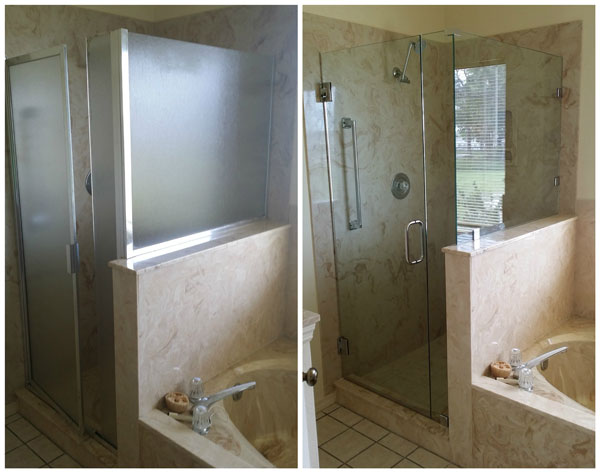 Framed Shower Update