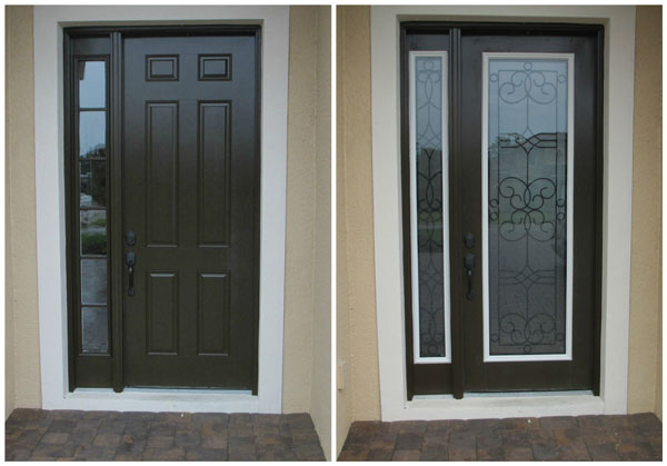 Specialty Door Glass Before and After