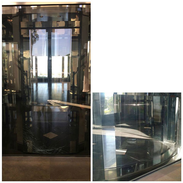 Specialty Glass Replacement Before and After